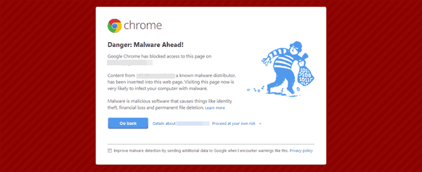 Get The Google Malware Hammer For Commented Out CSS