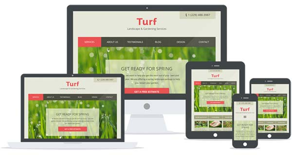 Mobile Responsive WordPress Gardening Theme