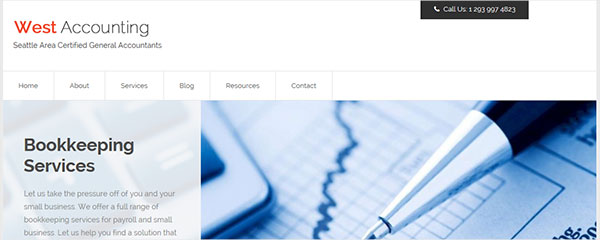 Accountancy - The Best WordPress theme for accountants